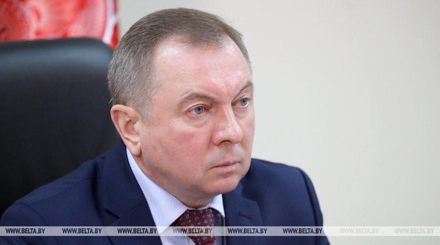 Макей предложил обсудить усилия стран СНГ по борьбе с COVID-19 на заседании Совета глав правительств