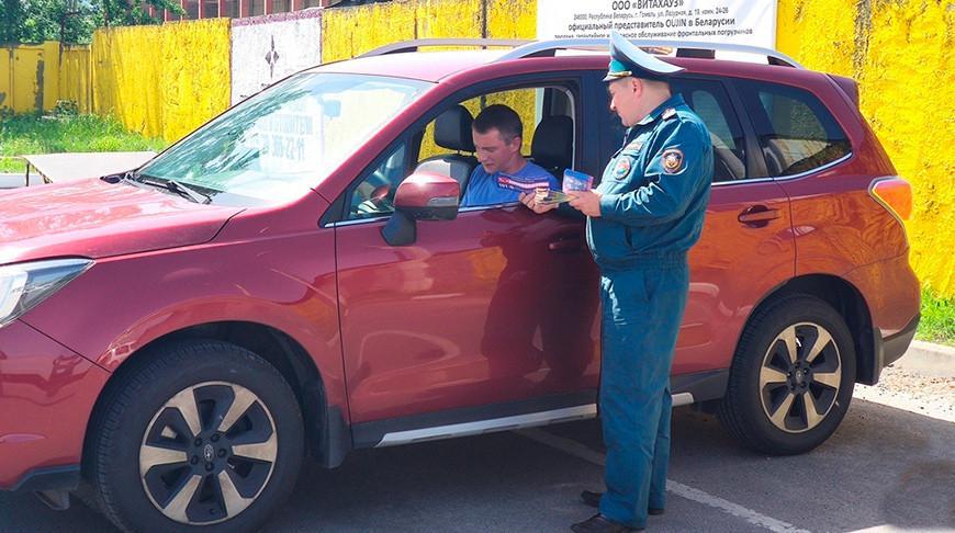 Водителям Гомельской области при прохождении техосмотра напомнят о правилах безопасности