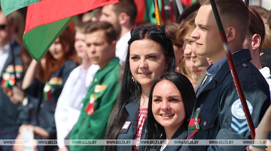 БРСМ откроет третий трудовой семестр в День молодежи