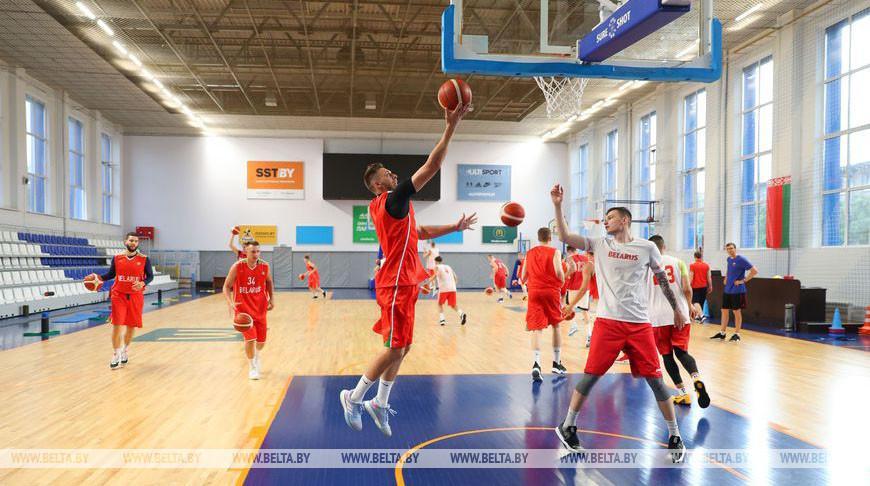ФОТОФАКТ: Сбор мужской национальной сборной по баскетболу стартовал в Минске