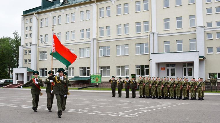 Пограничники новобранцы приняли Военную присягу