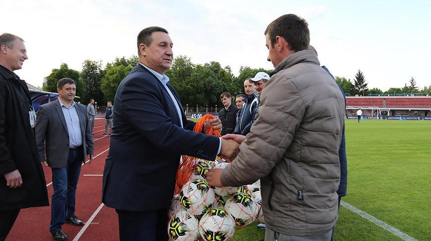Белорусская федерация футбола начала акцию по поддержке юных игроков