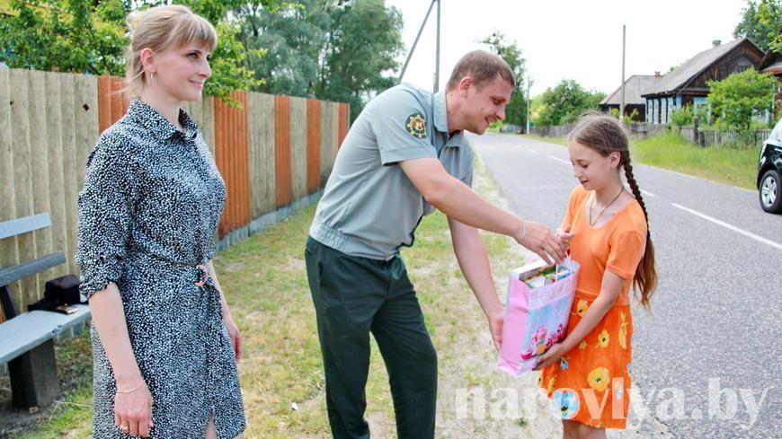Одиннадцатилетняя Евгения из Антонова предотвратила лесной пожар