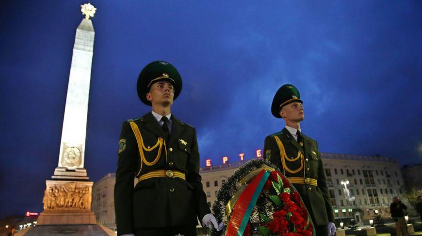 Пограничники почтили память павших в первых боях Великой Отечественной войны