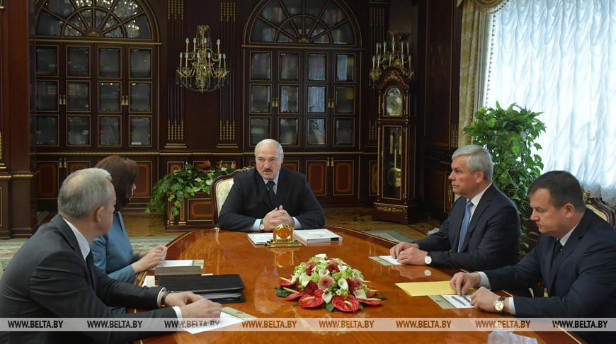 Видео. Предложения по новому составу правительства обсуждены на совещании у Лукашенко