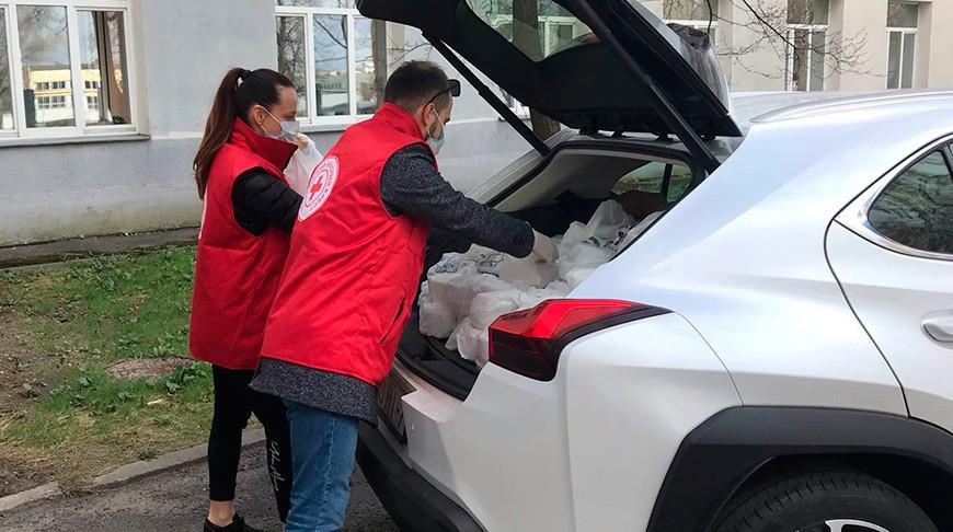 В Гомельской области Красный Крест оказал помощь социальным и медучреждениям почти на Br170 тыс.