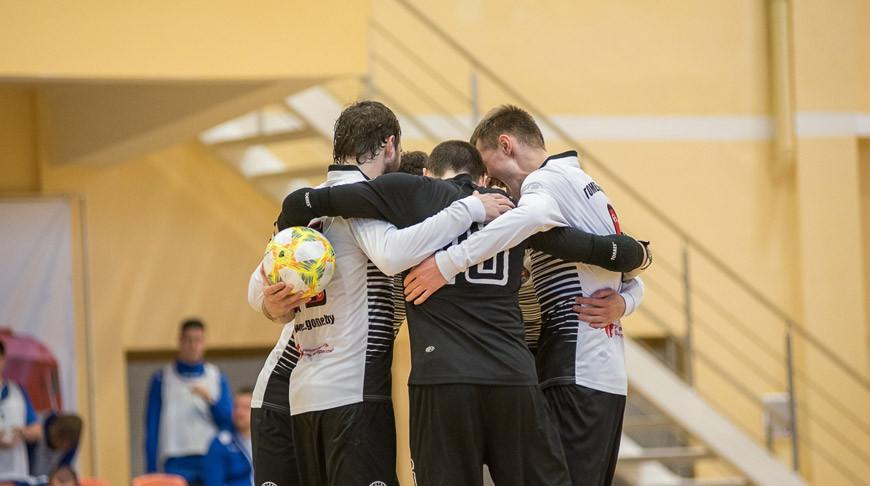 Гомельский ВРЗ стал первым финалистом чемпионата Беларуси по мини-футболу