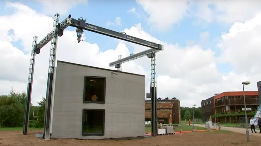 В Бельгии создали двухэтажный дом с помощью 3D-принтера
