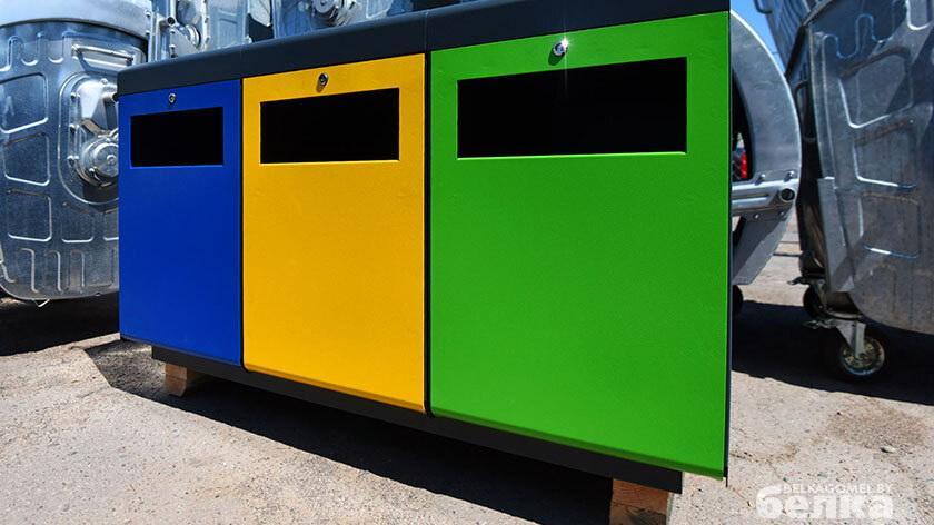 В Гомеле наладили производство боксов для раздельного сбора мусора