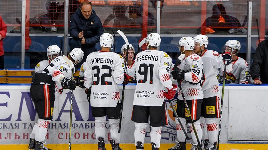 Хоккеисты «Гомеля» крупно выиграли у «Витебска» в поединке Кубка Салея
