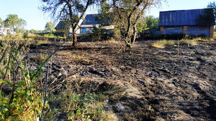 В Наровле неосторожное обращение с огнем привело к гибели человека