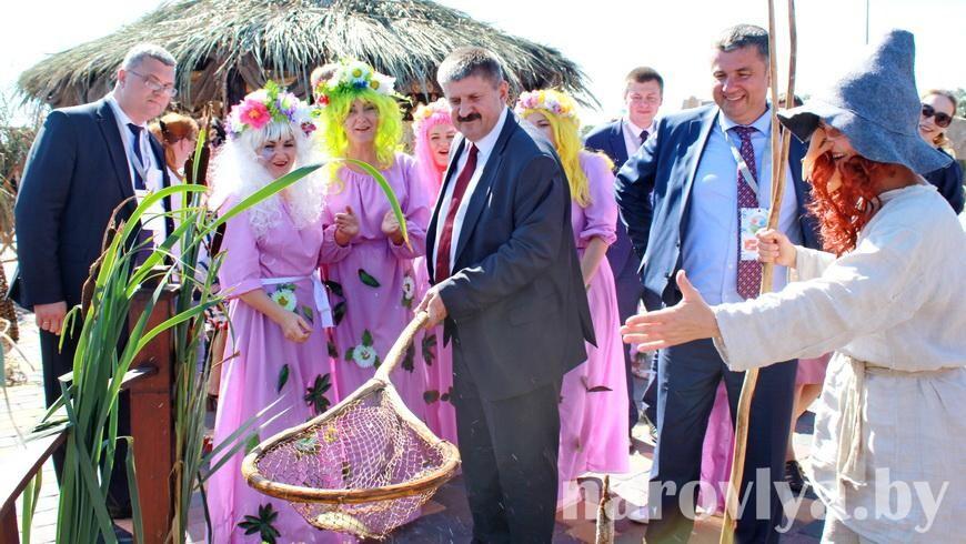 Наровляне приняли участие в фестивале «Зов Полесья»