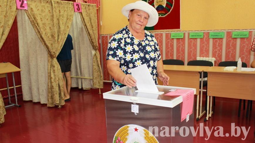 На Наровлянщине продолжается досрочное голосование