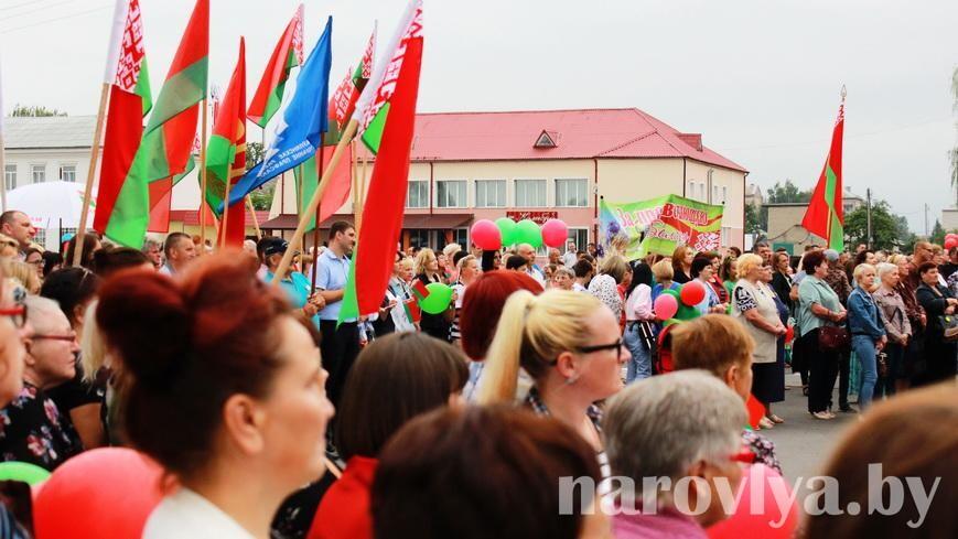 Видео. Наровляне за единство, ведь мы — белорусы!