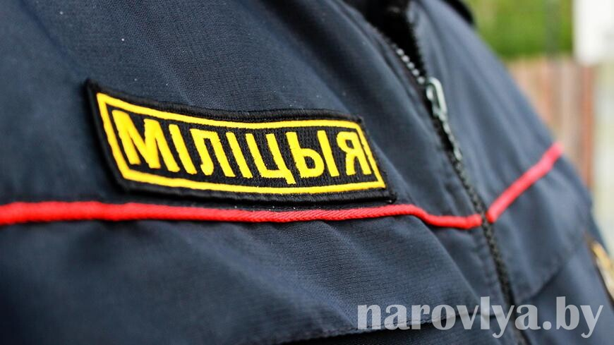 Протестующий гомельчанин напал на милиционеров