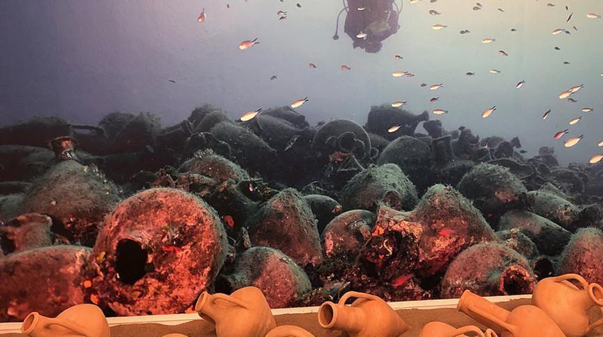 Первый подводный музей открыли в Греции