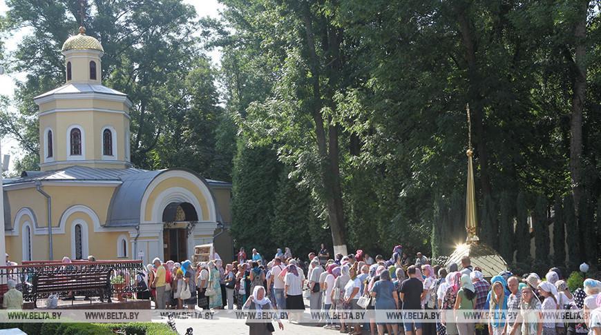 Торжества в память Манефы Гомельской проходят в областном центре
