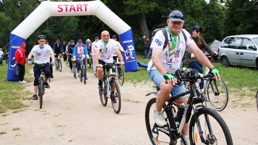 Профсоюз объединяет. Велопробег «За Беларусь» прошел на августовском канале