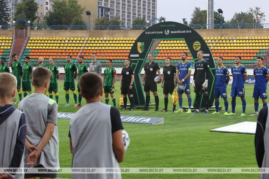 Футболисты БАТЭ победили «Неман» в матче чемпионата Беларуси