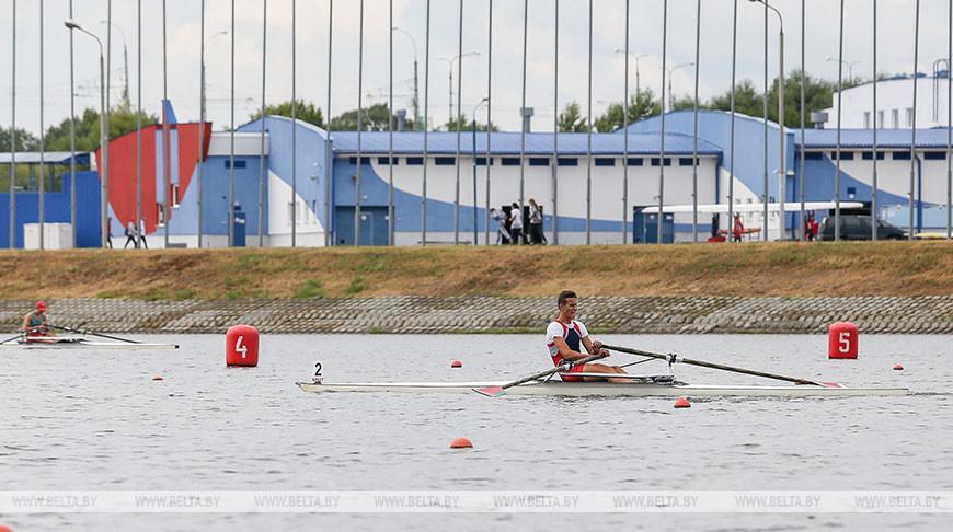 На чемпионате Беларуси по академической гребле определились победители в четырех видах программы