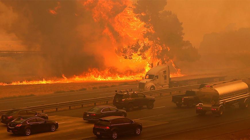 В Калифорнии эвакуируют почти 120 тыс. человек