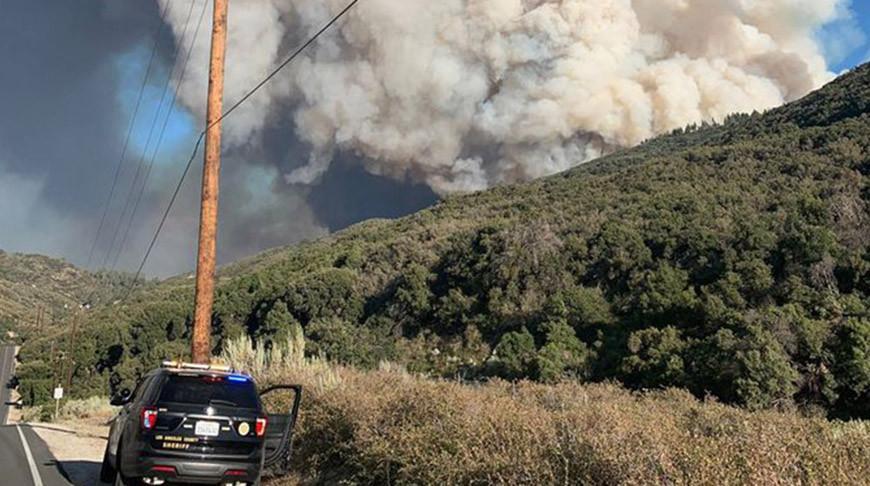 Природный пожар в Калифорнии распространился более чем на 11 тыс. га
