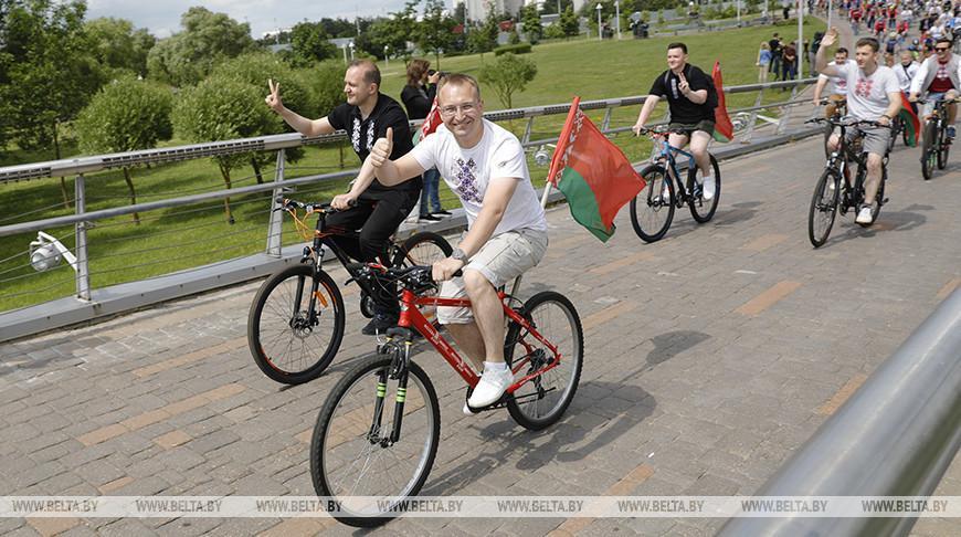 Молодежный велопробег #ЗАБеларусь пройдет в Минске 28 августа