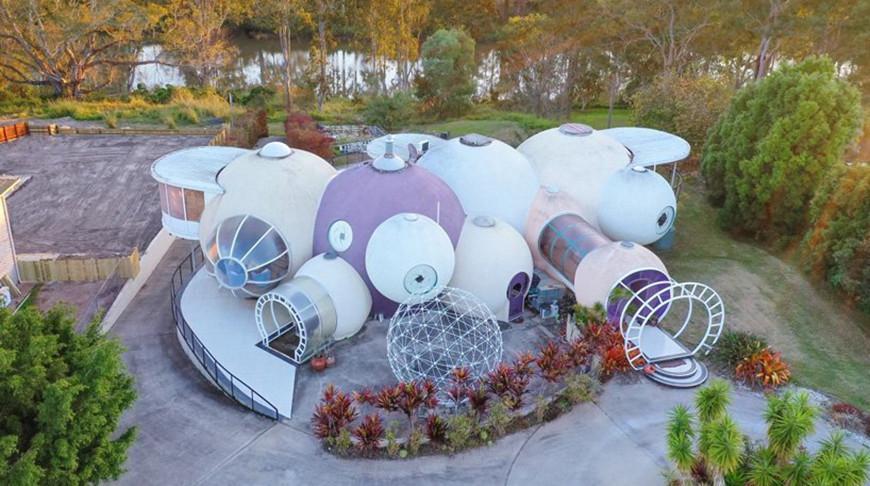 В Австралии продают единственный в мире дом из пузырей