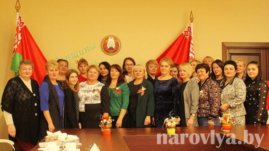 В Наровле женщины — за Беларусь!