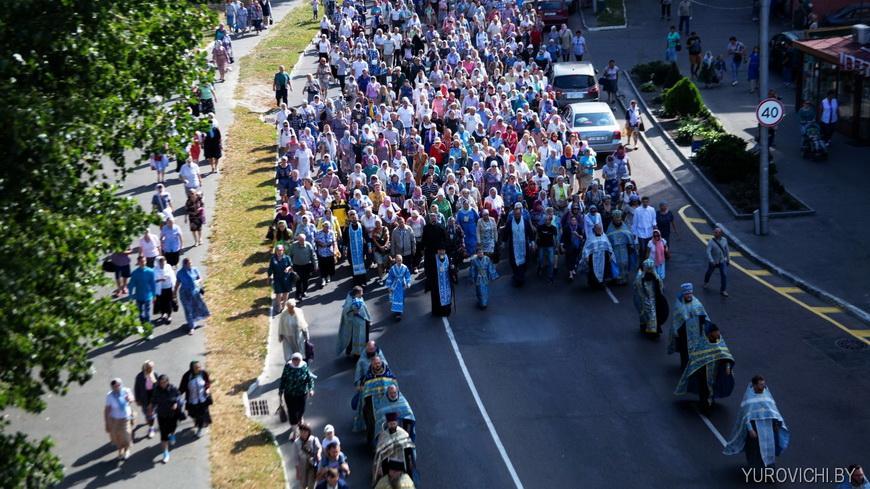 12 сентября состоится Крестный ход из Мозыря в Юровичи с чудотворной иконой