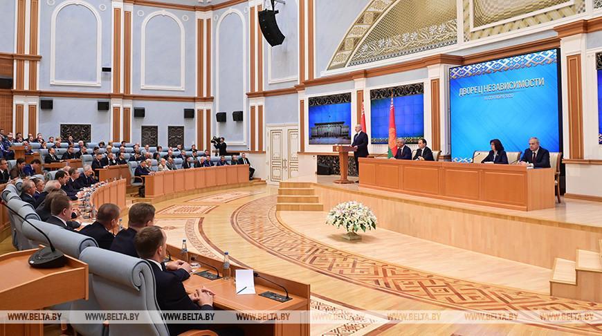 Встреча Лукашенко с политическим активом страны