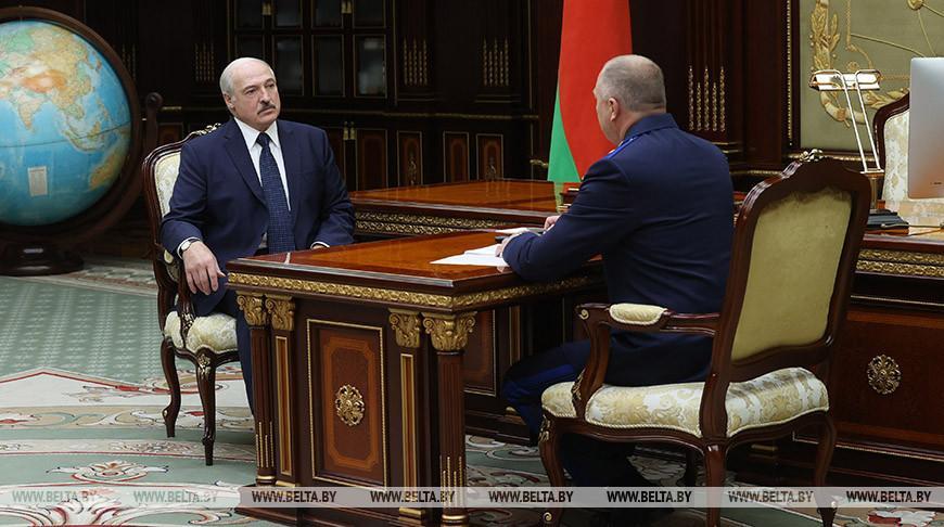 Лукашенко принял с докладом председателя Следственного комитета