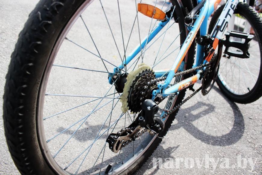 ВИДЕО. В Чечерске задержан серийный велосипедный вор
