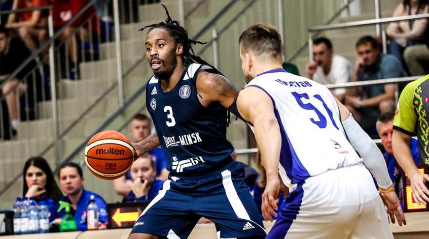 «Цмокi-Мiнск» и «Борисфен» победили на старте финала чемпионата Беларуси по баскетболу