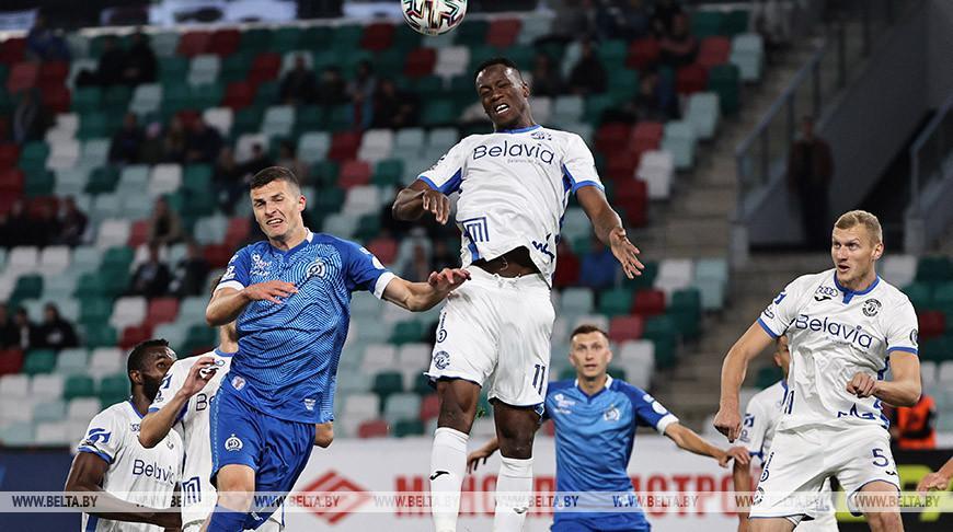 Брестское «Динамо» победило минских одноклубников в матче чемпионата Беларуси