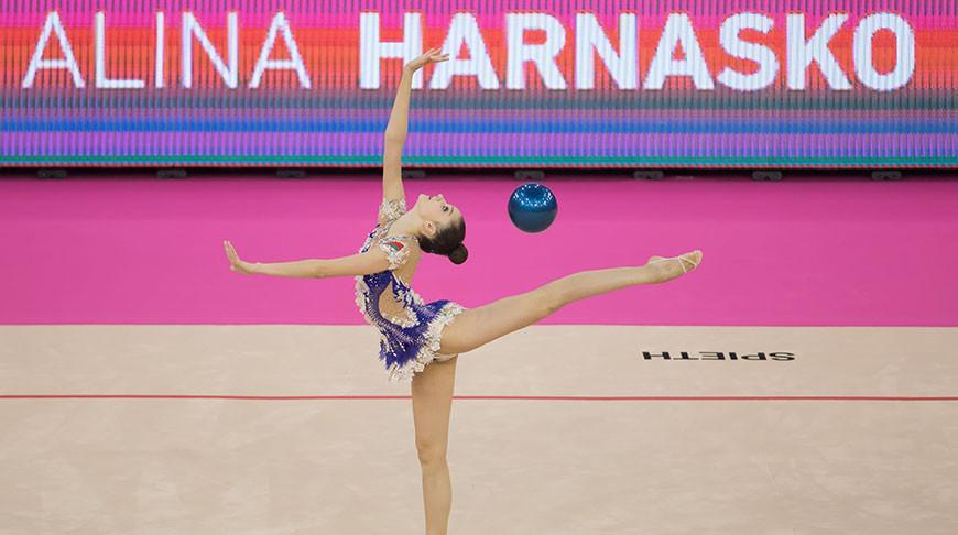 Белорусские гимнастки успешно выступили на турнире серии Гран-при в Киеве