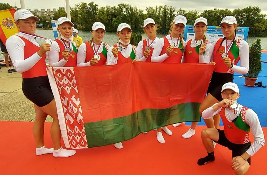 Белорусская сборная выиграла четыре медали на ЧЕ по академической гребле в Белграде