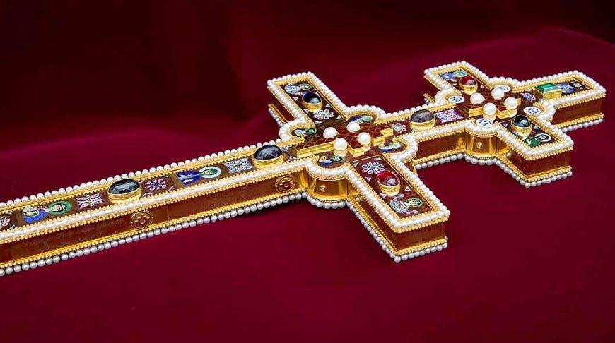 Копию Креста Евфросинии Полоцкой привезут в Брест
