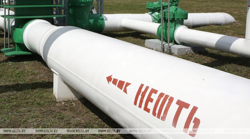 «Гомельтранснефть Дружба» заменила участок нефтепровода «Мозырь — Брест»