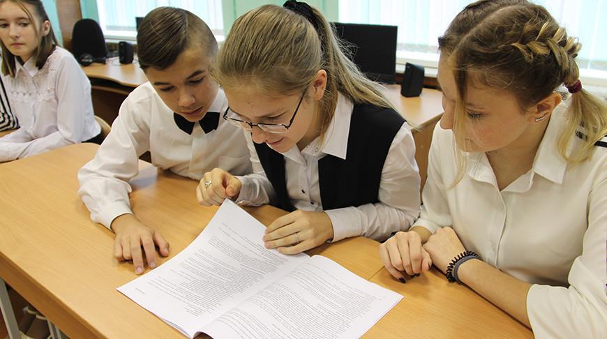 Серию открытых уроков по стандартизации организовали для белорусских школьников
