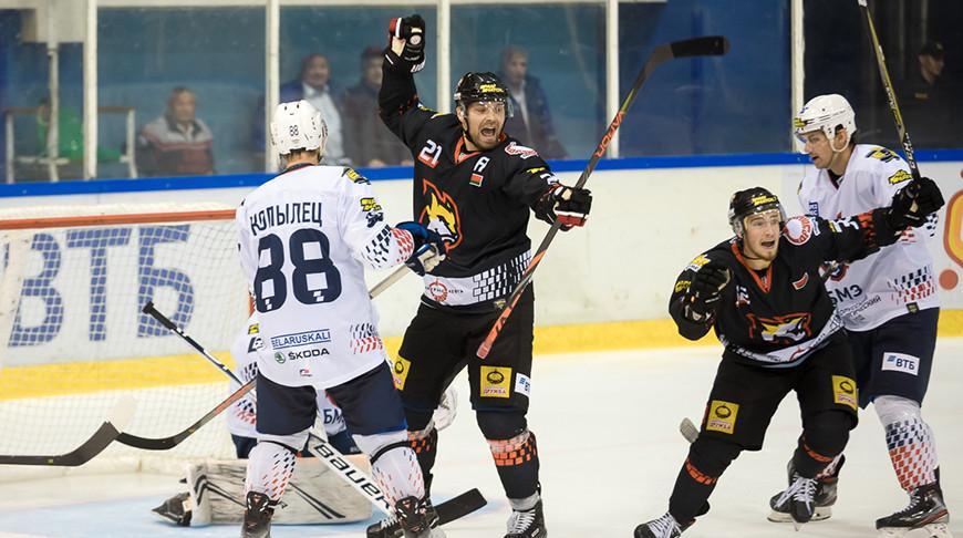 Хоккеисты «Гомеля» обыграли «Металлург» в матче чемпионата Беларуси