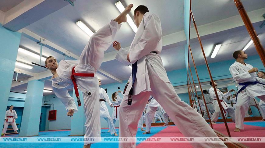 Около 500 спортсменов соберут соревнования по каратэ Gomel Open 2020