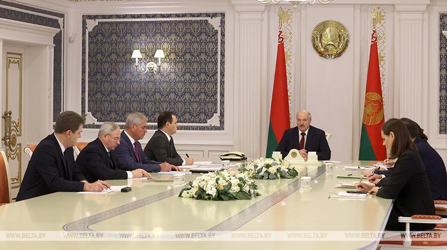 Лукашенко провел совещание по подготовке Всебелорусского народного собрания