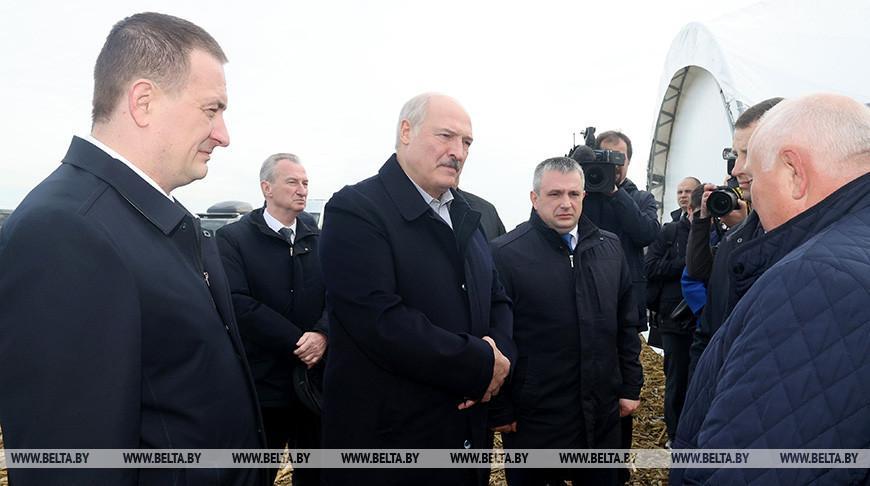 Рабочая поездка Президента в Слуцкий район
