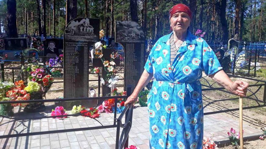 Жительница деревни Будки помнит ужасы фашизма