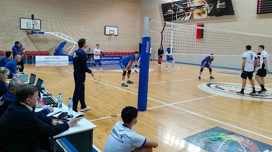 Волейболисты гомельской «Энергии» обыграли МАПИД в четвертьфинальном матче Кубка Беларуси