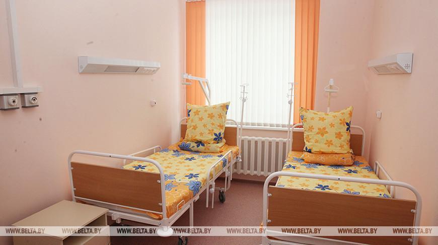 В детской инфекционной больнице остаются восемь учеников минской школы №61
