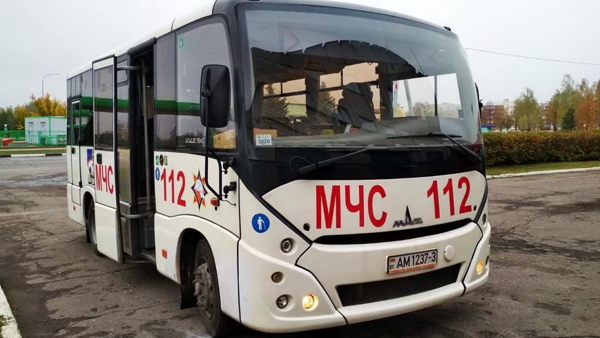На Наровлянщине появился автобус с социальной рекламой