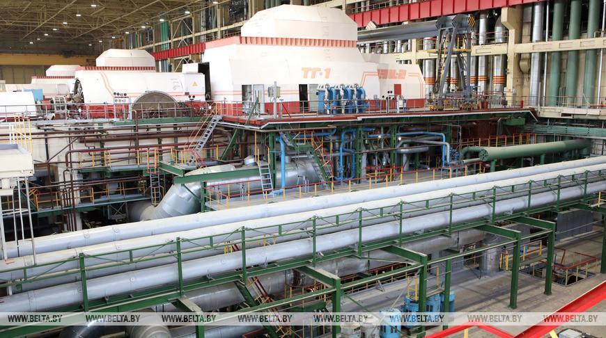 На Гомельской ТЭЦ-2 завершили ремонт энергоблока №1