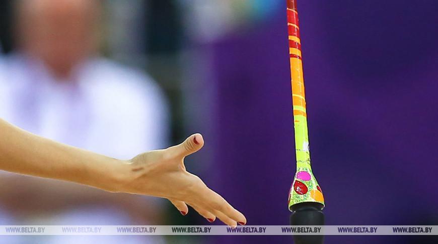 Две медали завоевали белорусские грации на ЧЕ по художественной гимнастике